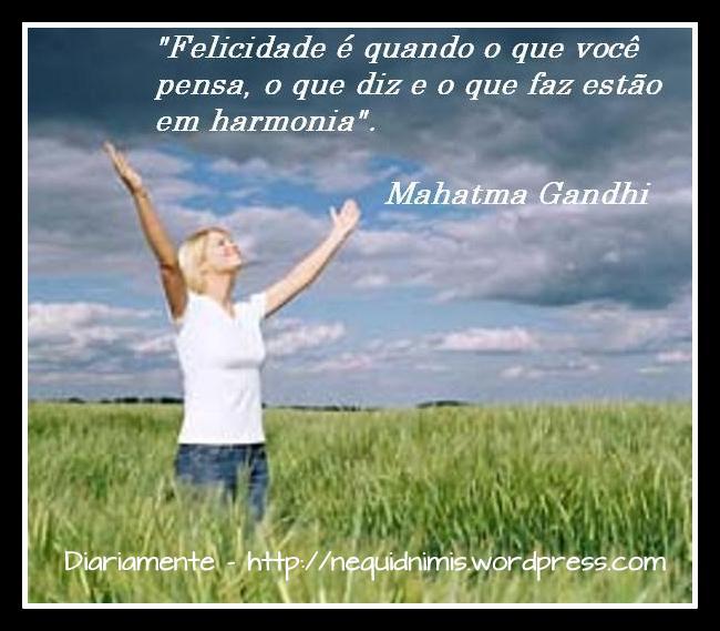 Felicidade Gandhi
