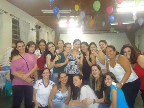 Sêzinha e alunos 2012