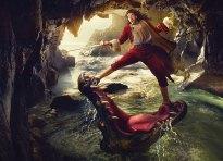 disney dream photo manipulation annie leibovitz 15