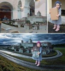 creative dad children photo manipulations john wilhelm 23