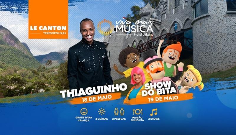 Thiaguinho/show do Bita